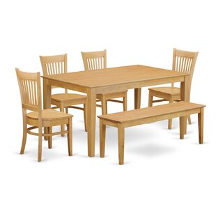 Smyrna 6 Piece Dining Set by Charlton Home Fresh