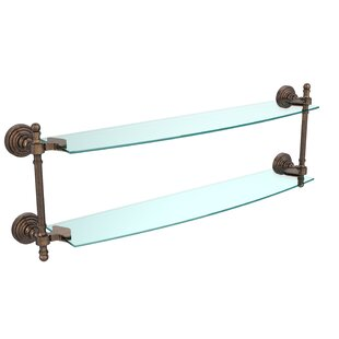 Allied Brass Retro Wave Wall Shelf