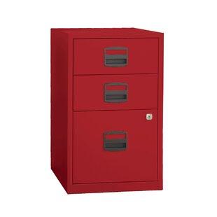 Wrought Studio Castaneda 3 Drawer Steel Home or Office Filing Cabinet