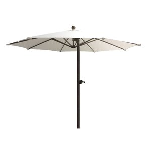 Mulberry Dual Function Adjustable Offset 9' Market Umbrella