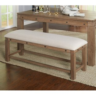 Gracie Oaks Westendorf Wood Bench