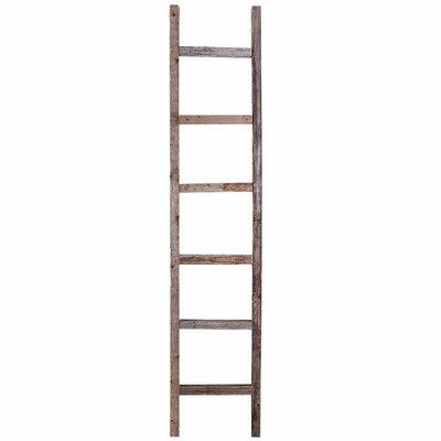 BarnwoodUSA Rustic 4 ft Blanket Ladder