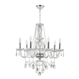 Cordella 8-Light Candle Style Chandelier by Rosdorf Park
