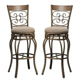 Giuliani 29 Swivel Bar Stool (Set of 2) by Fleur De Lis Living