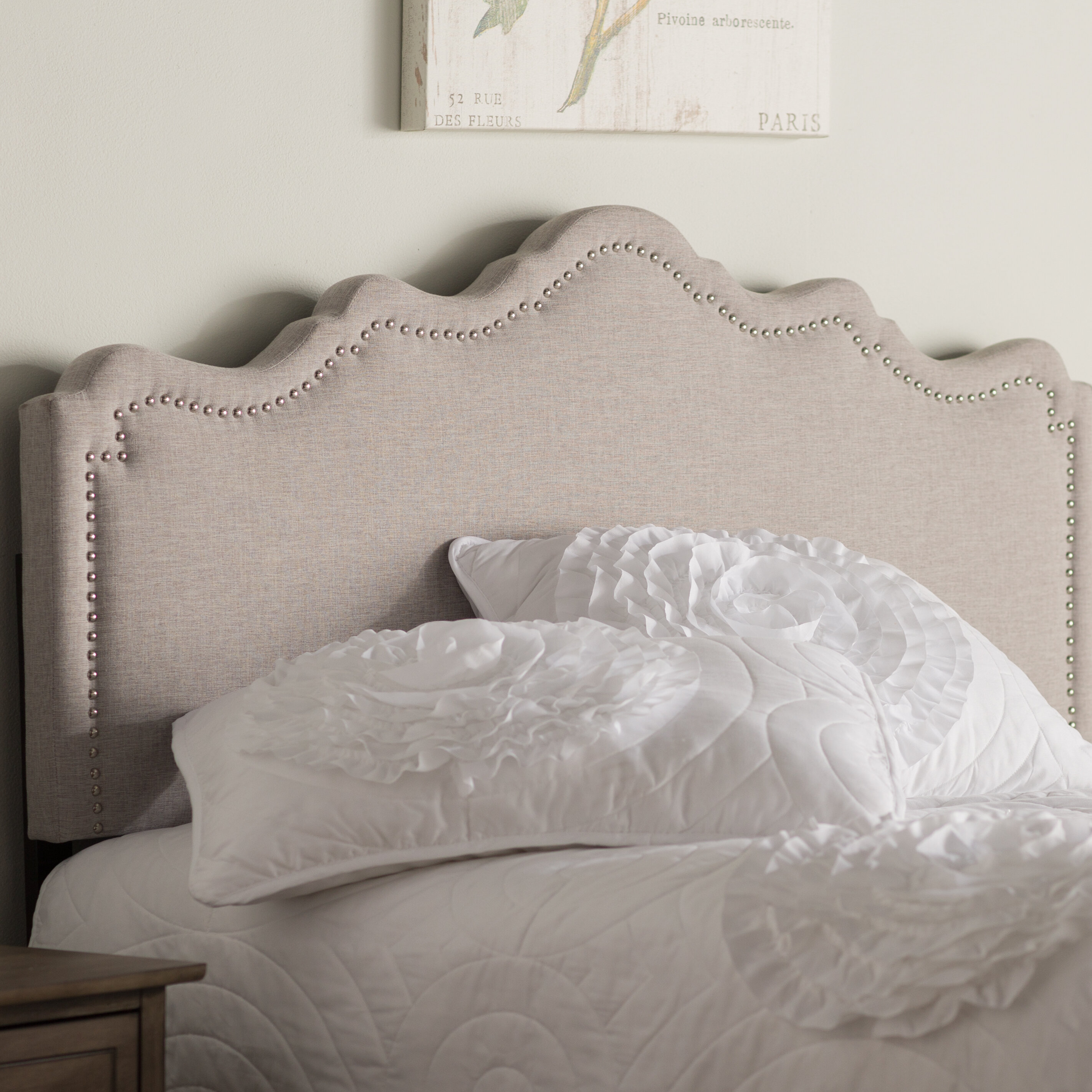 headboard beautiful petite emerald oversized upholstered bed the by green co sophia company