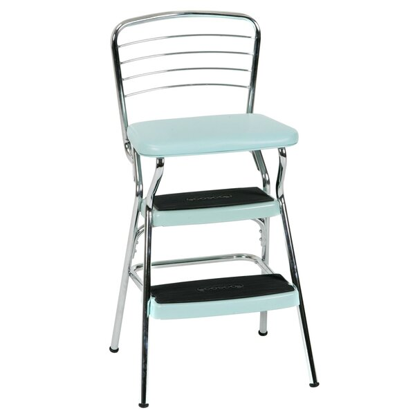 Sensational Retro Kitchen Chair Step Stool Wayfair Ocoug Best Dining Table And Chair Ideas Images Ocougorg