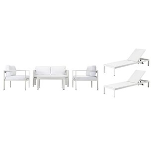 WKRN LRG 6 Piece Sofa Set With Cushions By Rosecliff Heights