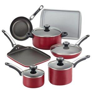 High Performance 17 Piece Nonstick Cookware Set
