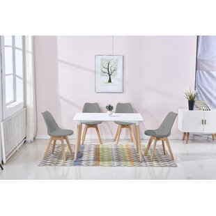 Berkowitz 5 Piece Dining Set George Oliver