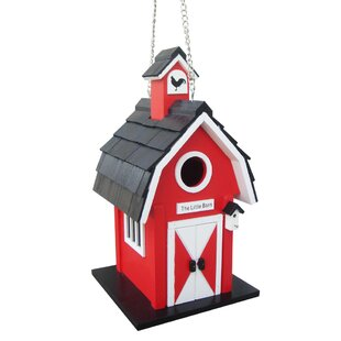 Home Bazaar Barn 12 in x 6 in x 6 in Birdhouse
