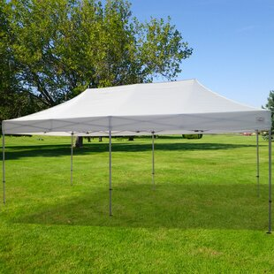 Impact Instant Canopy Garden 20 Ft. W x 10 Ft. D Steel Pop-Up Party Tent