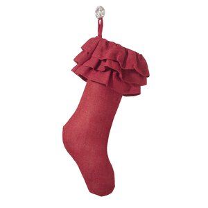 Ruffled Stocking