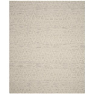 Alexandria Hand-Woven Wool Ivory Area Rug by Langley Street