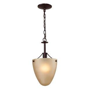 Winston Porter Freda 1-Light Urn Pendant