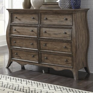 One Allium Way Toni 8 Drawer Standard Dresser