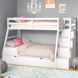 Reece Twin Over Full Bunk Bed with Trundle by Viv + Rae
