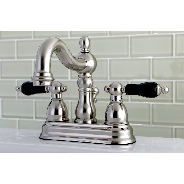Kingston Brass Duchess Standard Centerset Bathroom Faucet With Drain Assembly Wayfair