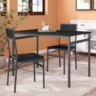 Springfield 3 Piece Dining Set Latitude Run