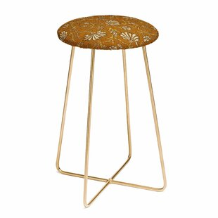 Holli Zollinger Kalami Floral 30 Bar Stool by East Urban Home No Copount