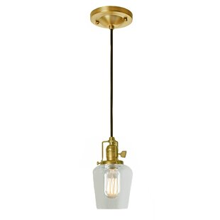 Breakwater Bay Shumway 1-Light Jar Pendant