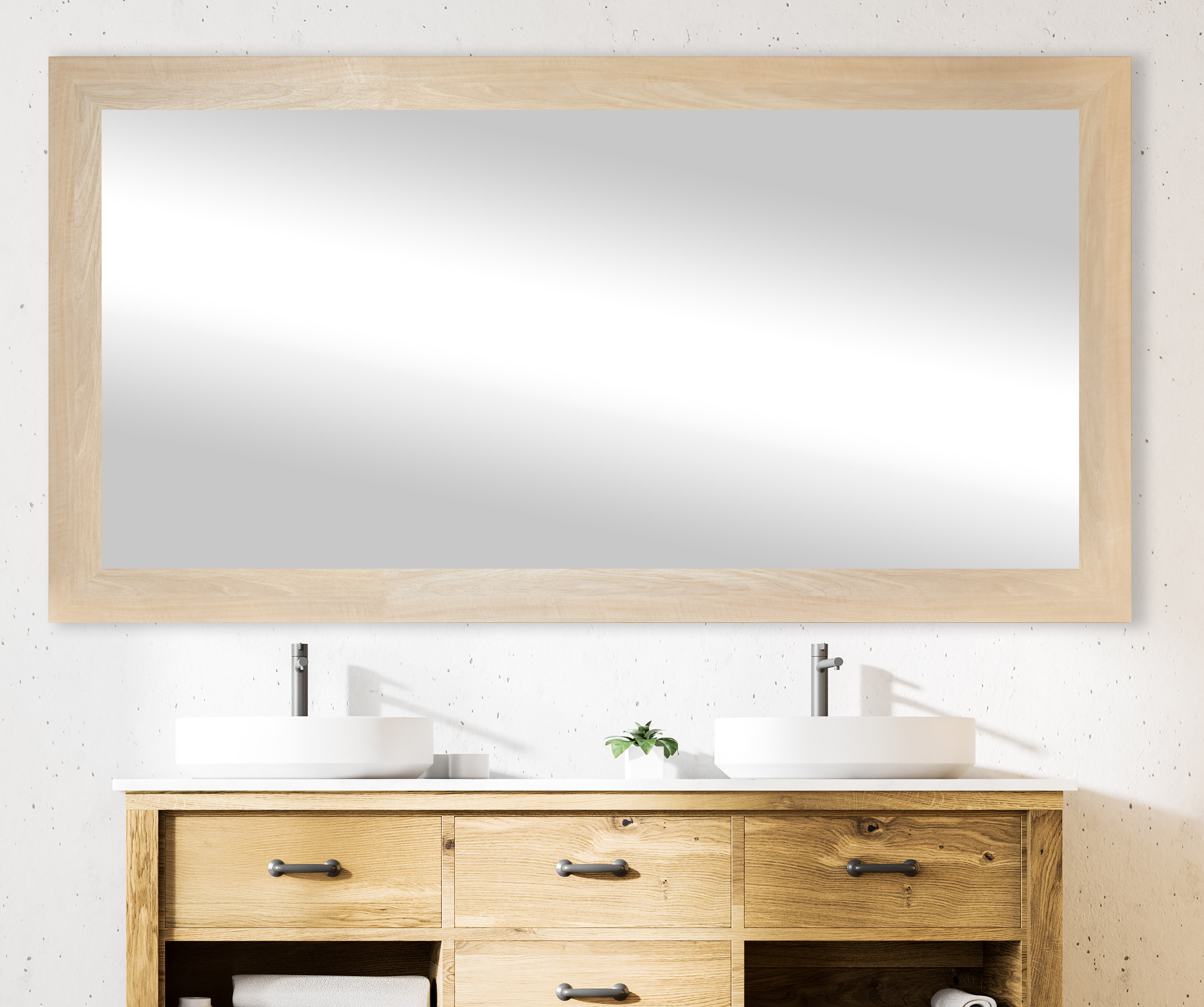 Gracie Oaks Trond Rayne Modern Farmhouse Bathroom Vanity Mirror Reviews Wayfair