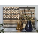 Wood Flag Wall Décor by Millwood Pines