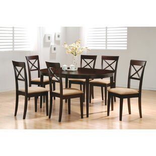 Crawford 7 Piece Dining Set by Wildon Home® Today Only Sale