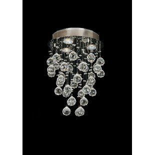 Damia 3-Light Flush Mount