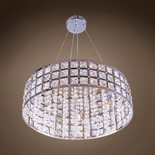 Everly Quinn Alexa 5-Light Crystal Chandelier