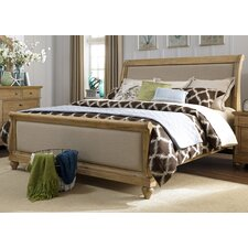 Ancolie Sleigh Bed by One Allium Way