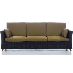 Indoor Rattan Sofa | Wayfair