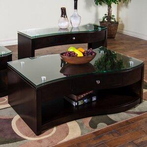 free form coffee tables you'll love | wayfair