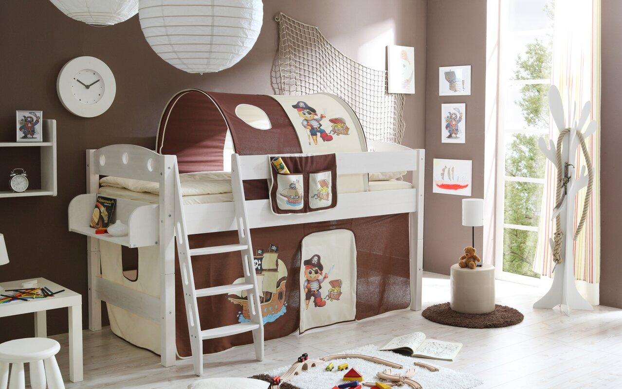 Ticaa Etagenbett Bewertung : Ticaa hochbett vorhang u2013 zuhause image idee