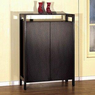 Red Barrel Studio 15 Pair Shoe Storage Cabinet