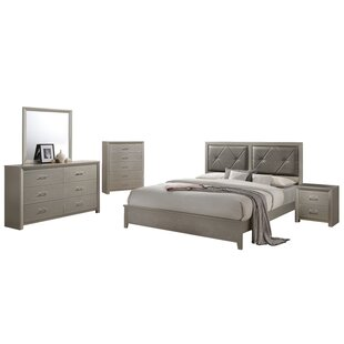 Whaley Panel 5 Piece Bedroom Set