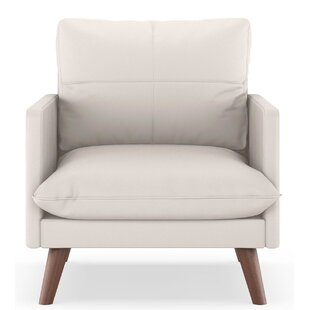 Roermond Vegan Leather Armchair by Brayden Studio