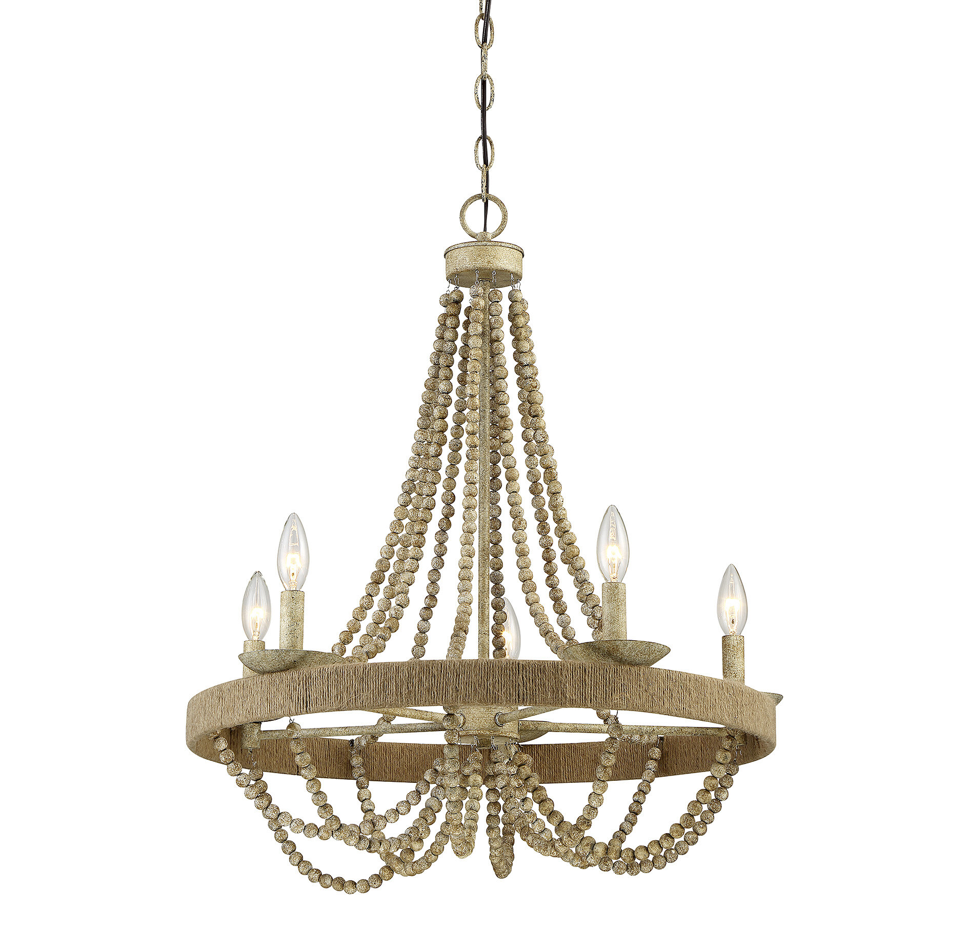 Woolsey 5 Light Candle Style Chandelier & Reviews