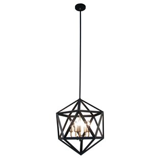Archello 5-Light Geometric Cha..
