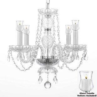 House of Hampton Ketterman 4-Light Candle..