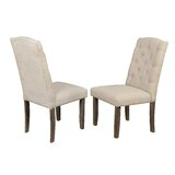 Daniella Upholstered Dining Chair (Set of 2) by Gracie Oaks