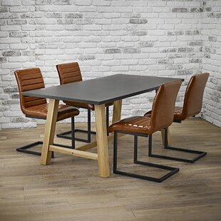 Brienne Dining Set With 4 Chairs By Ebern Designs