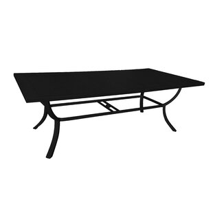 Whitten Metal Dining Table by Alcott Hill