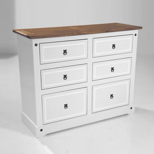 Swink 6 Drawer Double Dresser by August Grove 2019 Coupon