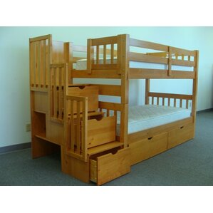 Bunk Bed With Storage bunk & loft beds with stairs