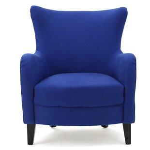 Beachcrest Home Nisha Fabric Club Chair