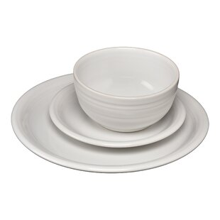 Bistro 3 Piece Plate Setting, Service for 1