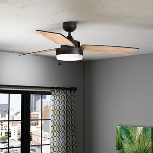 Modern Contemporary Ceiling Fans You Ll Love In 2021 Wayfair
