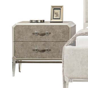 Liz 2 Drawer Nightstand
