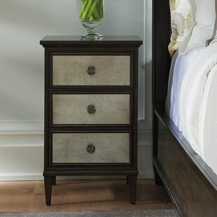 Barclay Butera Brentwood 3 Drawer Nightstand