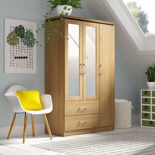 Charles 3 Door Wardrobe By 17 Stories
